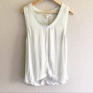 Anthropologie Cloth & Stone mint green sleeveless